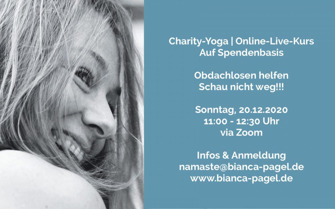 Charity-Yoga  | Online-Live-Kurs auf Spendenbasis