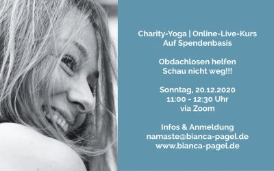Charity-Yoga  | Online-Live-Kurs auf Spendenbasis